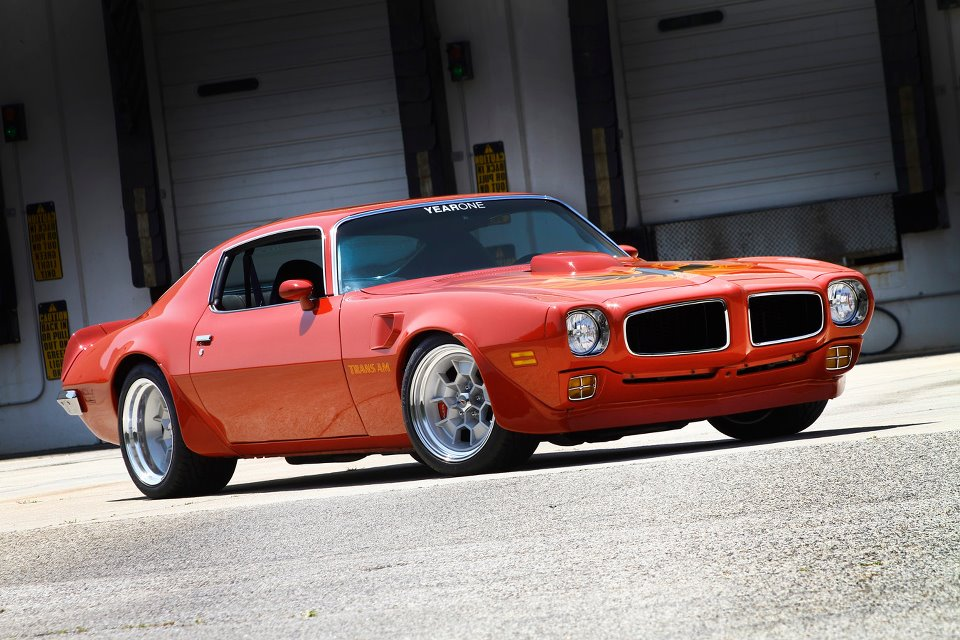 1973 Supercharged Trans Am : Drivin\' It Home