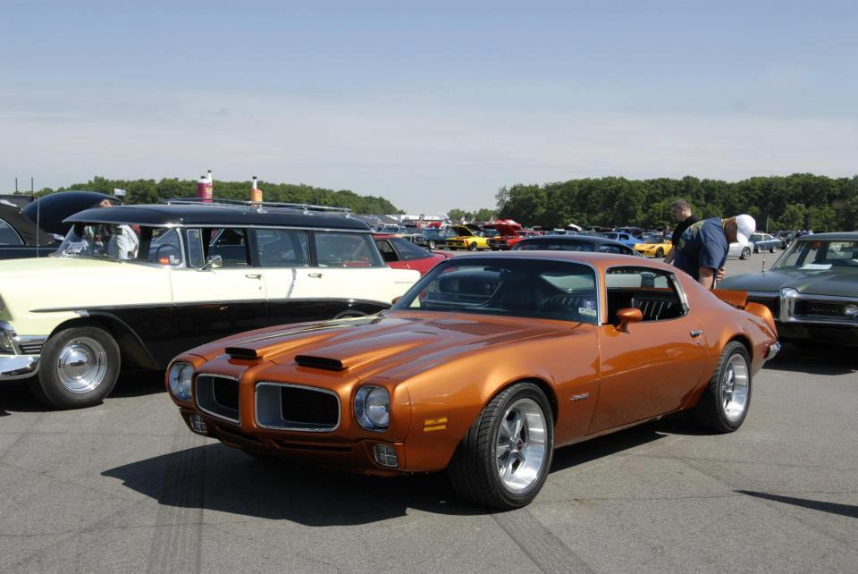 Firebird Convertible Wearing Year One Rally Ii Repro
