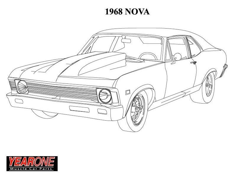 Chevy Cars Truck Coloring Pages : Best Place to Color | 612x792